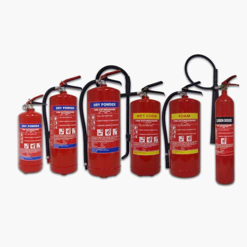 SOLAS Fire Extinguishers